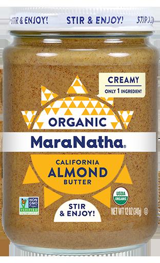 MaraNatha Organic Almond Butter Creamy