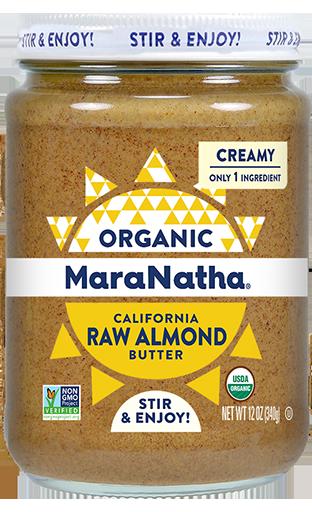 MaraNatha Almond Butter Organic Raw Creamy