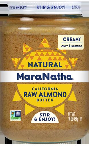 MaraNatha Almond Butter Raw Creamy