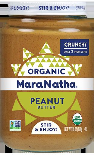 MaraNatha Peanut Butter Organic Crunchy