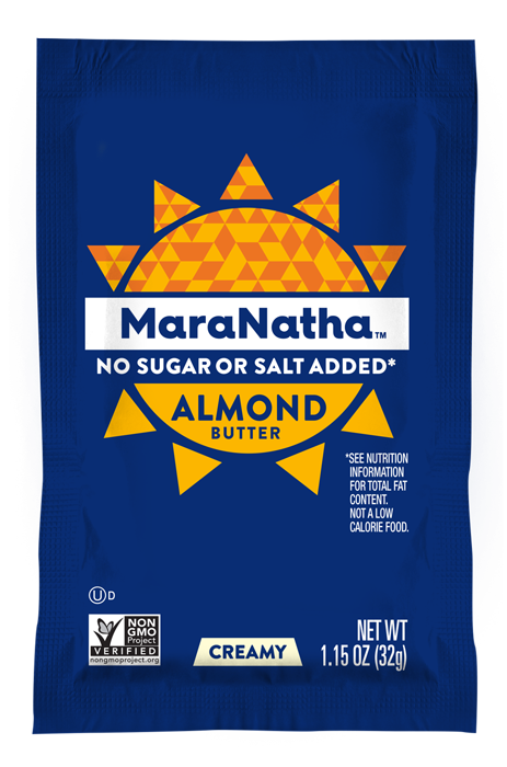 MaraNatha Almond Butter Packet with no added sugar or salt