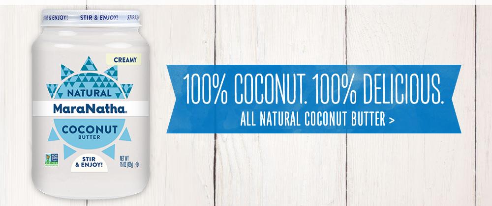 MaraNatha Coconut Butter